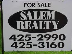 salem realty sign